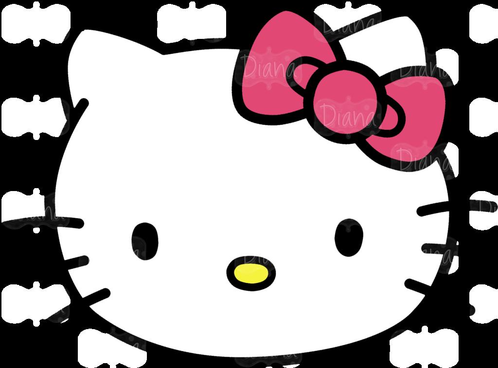 Hello Kitty Face  ClipArt Best