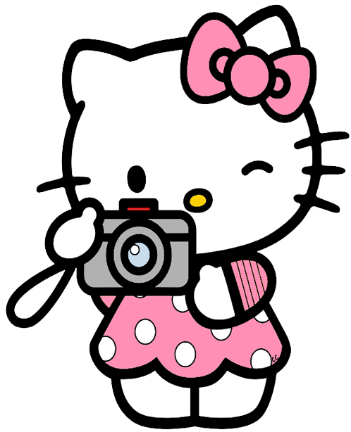 Library of hello kitty looking clipart royalty free