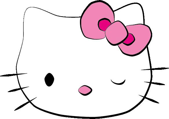 Hello Kitty Face by azenmog on DeviantArt