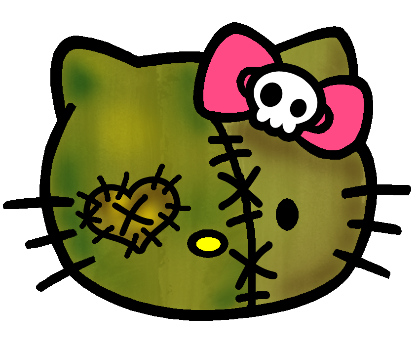 Hello Kitty Zombie Stuff | Hello Kitty Forever - Hello Kitty Face