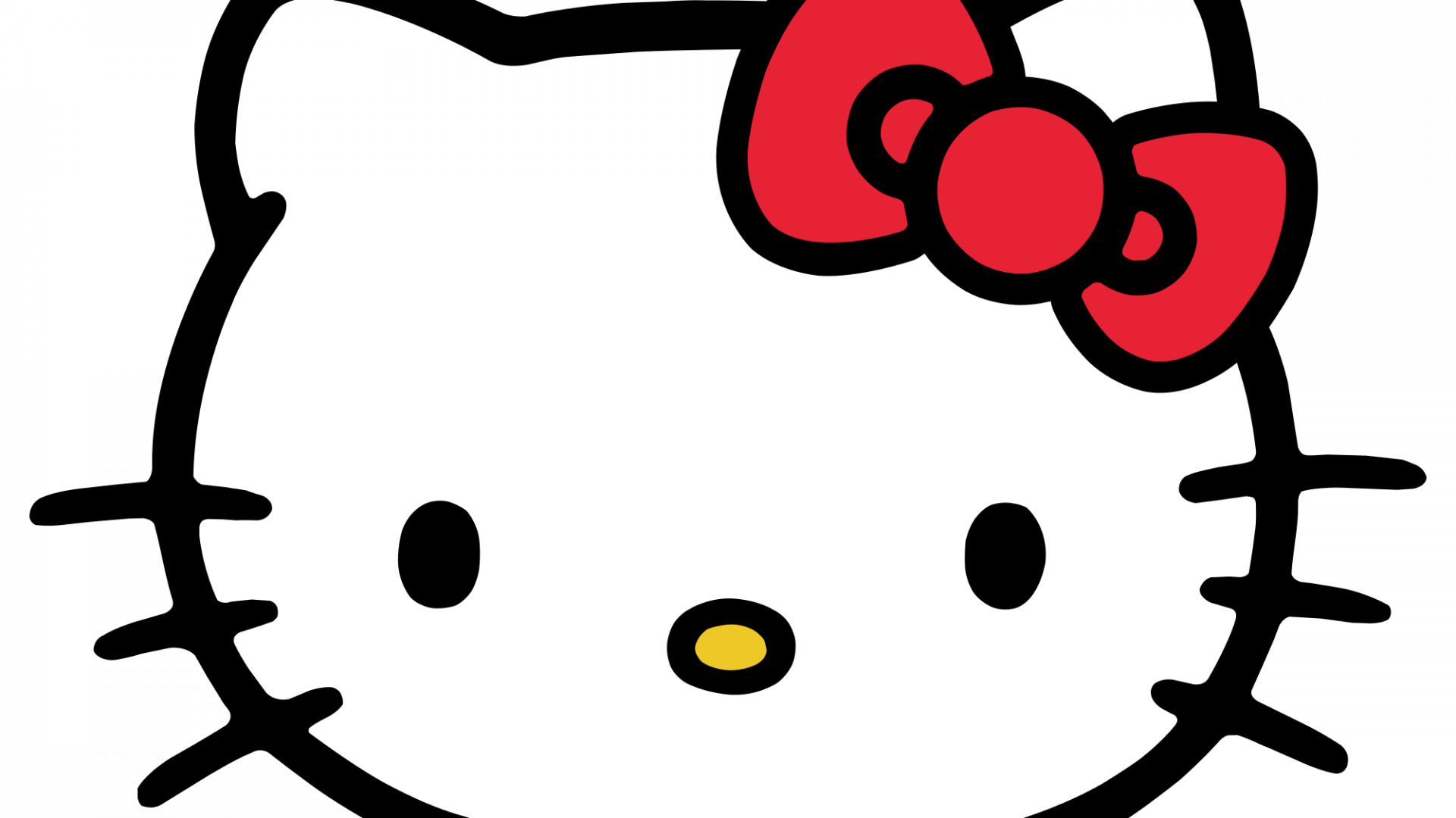 Hello Kitty Head ClipArt in PNG File - HD Wallpapers ... - Hello Kitty Face