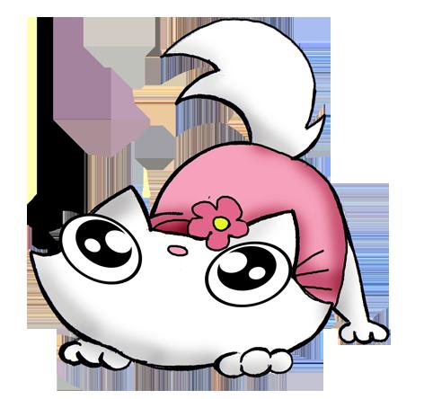 Free funny kitten adoptable fan cat Hello kitty by