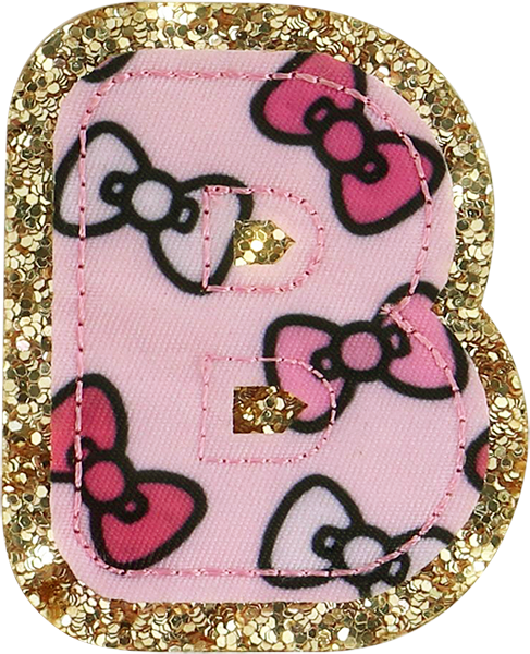 Hello Kitty Bow Letter Patches  Stoney Clover Lane Patches