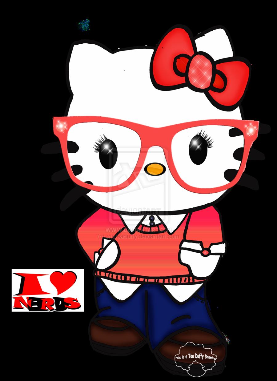 Nerd Hello Kitty Wallpaper - WallpaperSafari - Hello Kitty Glasses