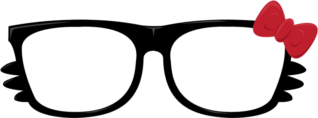 Kitty Paper Sunglasses Hello Free Transparent Image  Png