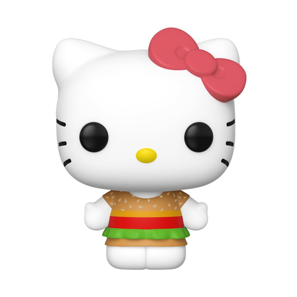 Pop Sanrio Hello Kitty Kawaii Burger Shop  Funko Shop