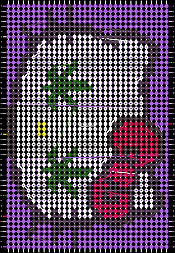 Alpha Friendship Bracelet Pattern 11153  BraceletBook
