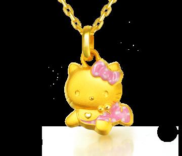 Hello Kitty Pendant  New Born  Gifts  Chow Sang Sang