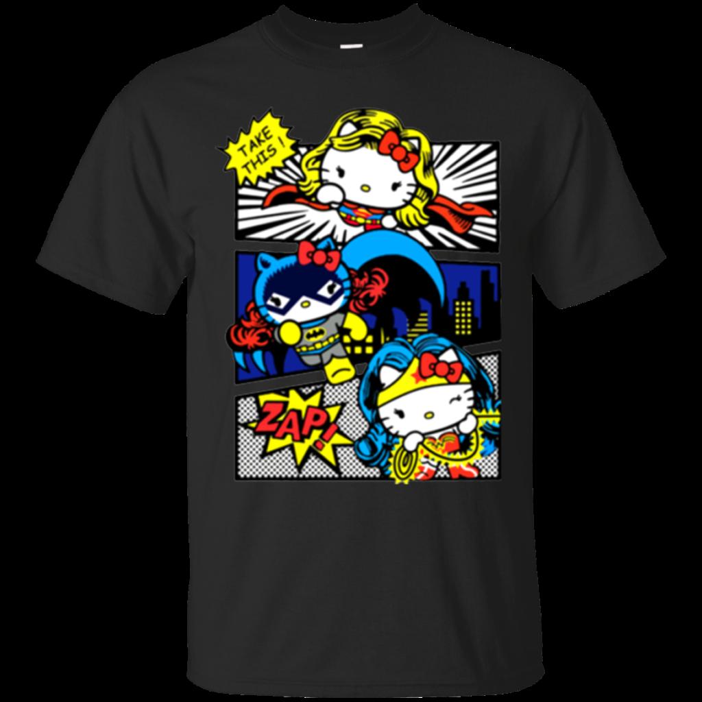 Hello Kitty Thor Wonder Woman Marvel Shirts  Teesmiley