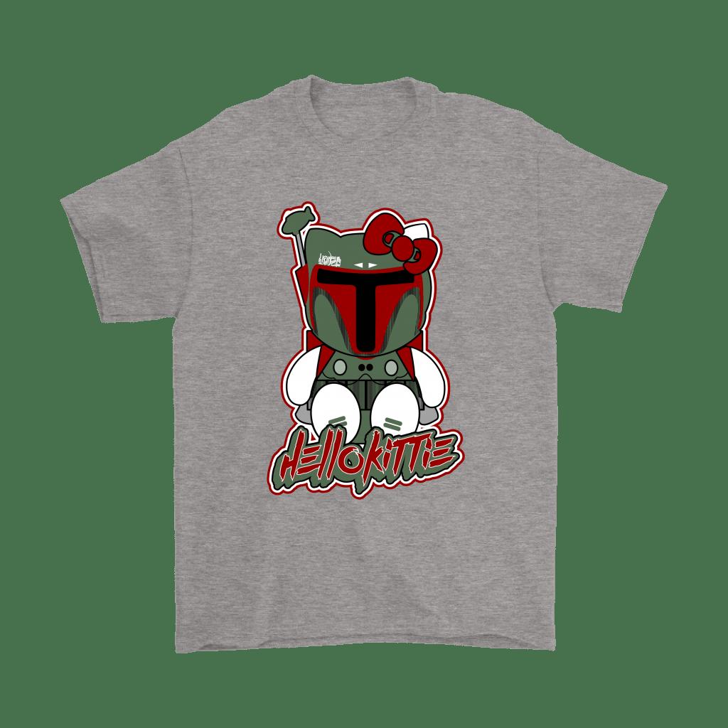 Hello Kitty Bounty Hunter Boba Fett Shirts – Potatotee Store - Hello Kitty Merchandise