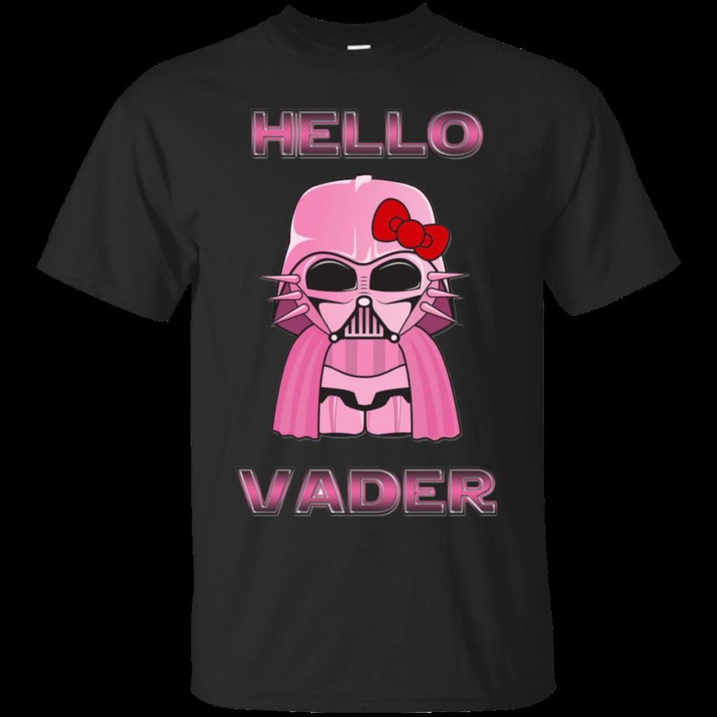 Hello Kitty Star Wars Darth Vader Shirts Hello Vader  Amyna