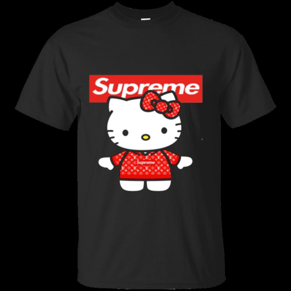 Cool Hello Kitty Supreme Limited Men T Shirts  Tee Peeze