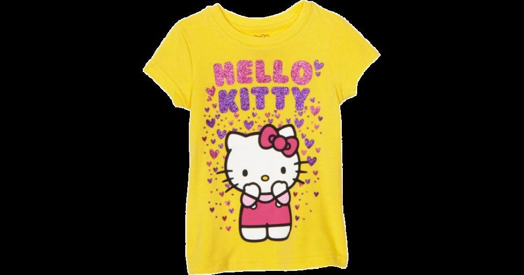 Hello Kitty Tshirts Hello Kitty Girls 26x Raining 1199
