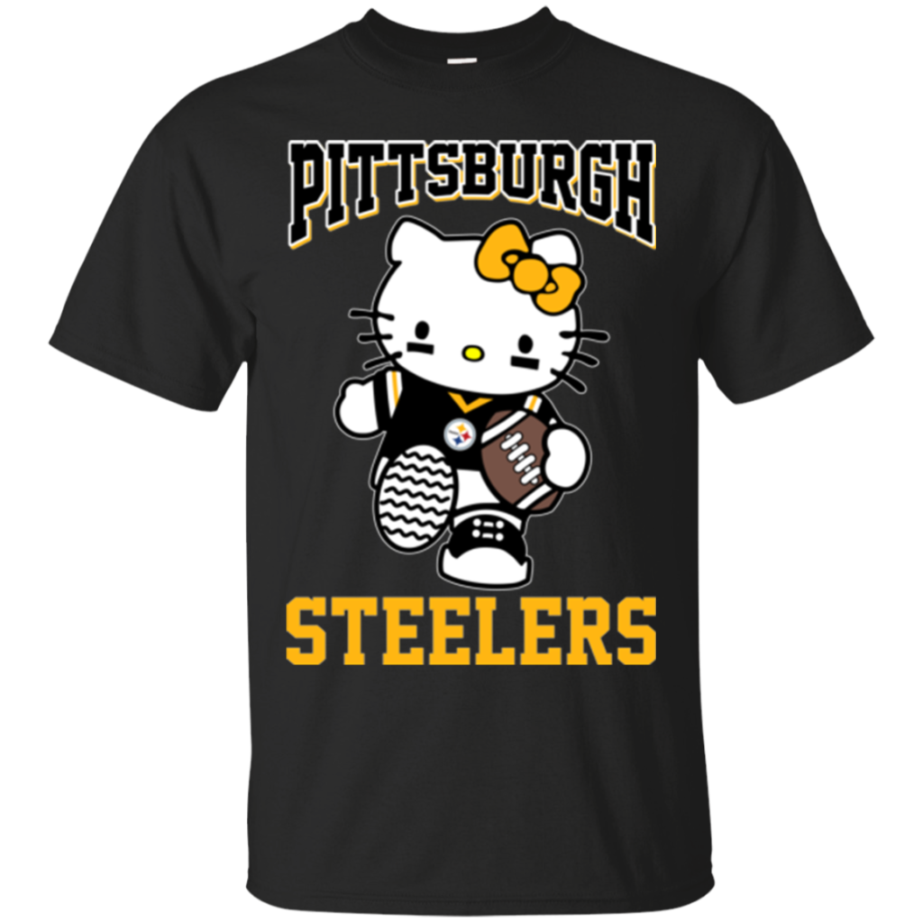Pittsburgh Steelers Hello Kitty T shirts  Teesmiley