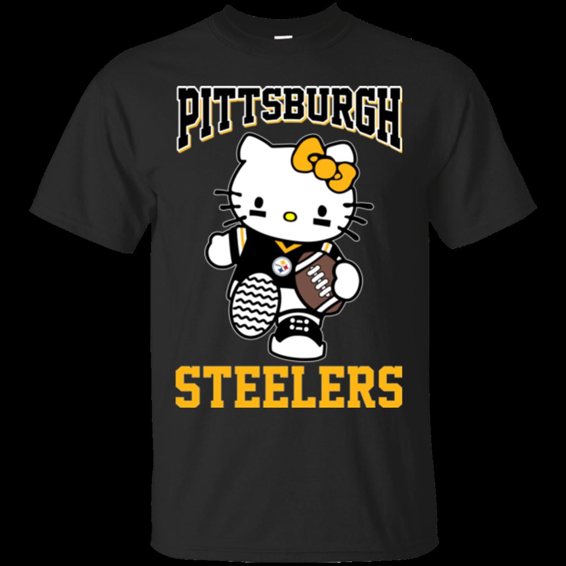 Pittsburgh Steelers Hello Kitty T shirts – Teesmiley - Hello Kitty Merchandise