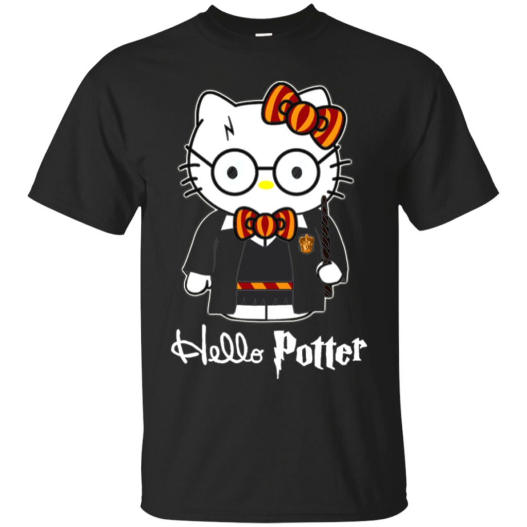 Harry Potter Hello Kitty Shirts Hello Potter  Teesmiley