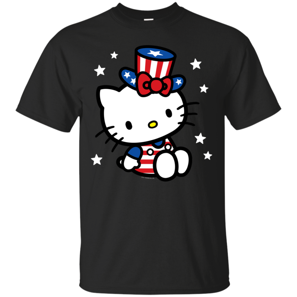 AGR For Fun Hello Kitty American 4th of July Cotton T