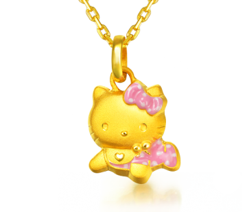 Hello Kitty Pendant - New Born - Gifts - Chow Sang Sang ... - Hello Kitty Necklace