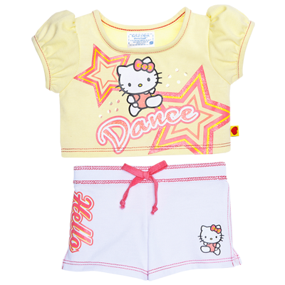 Hello Kitty Active Dance Outfit 2 pc  BuildABear