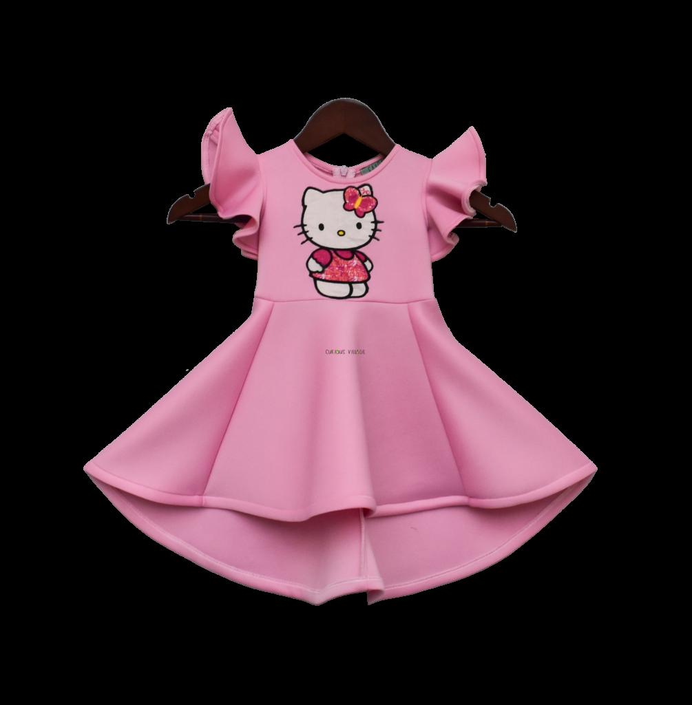 Pink Lycra Hello Kitty Dress  Curious Village