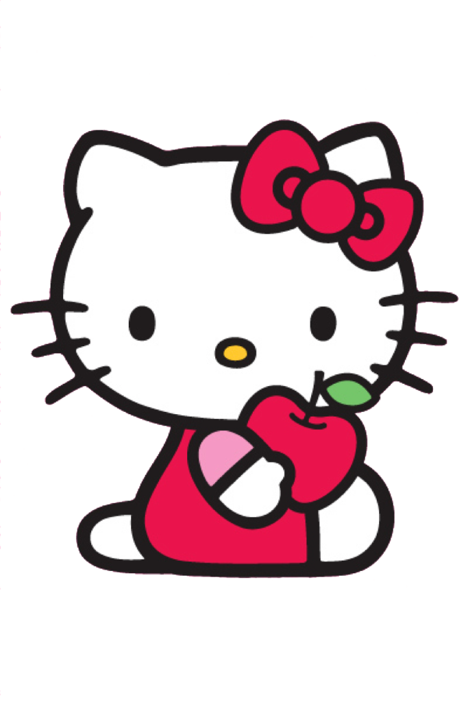 Hello Kitty Borders Images and Backgrounds  Hello