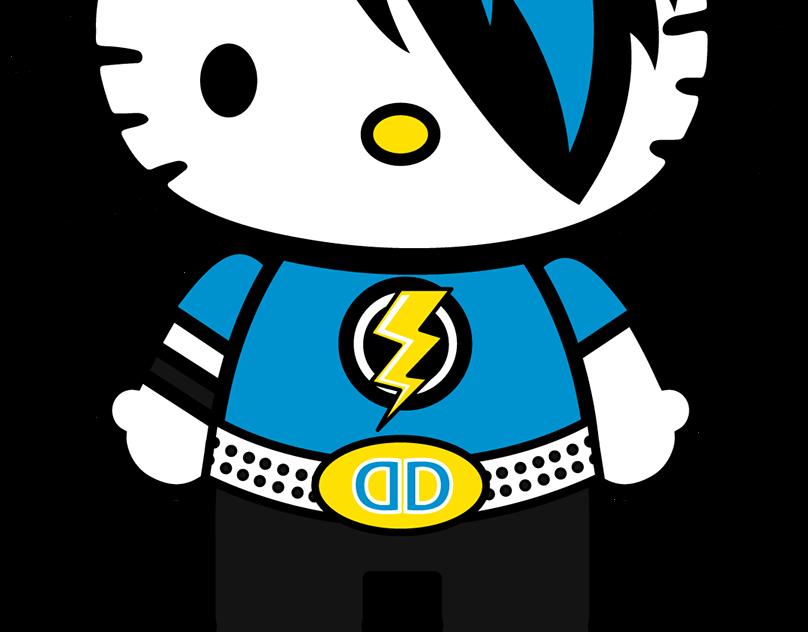 Hello Kitty Dolls on Behance  Hello kitty backgrounds