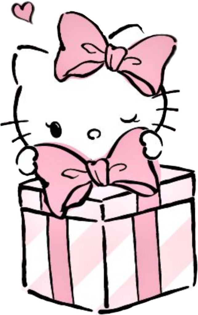 Pin by L T on Holiday Cards  Hello kitty drawing Hello