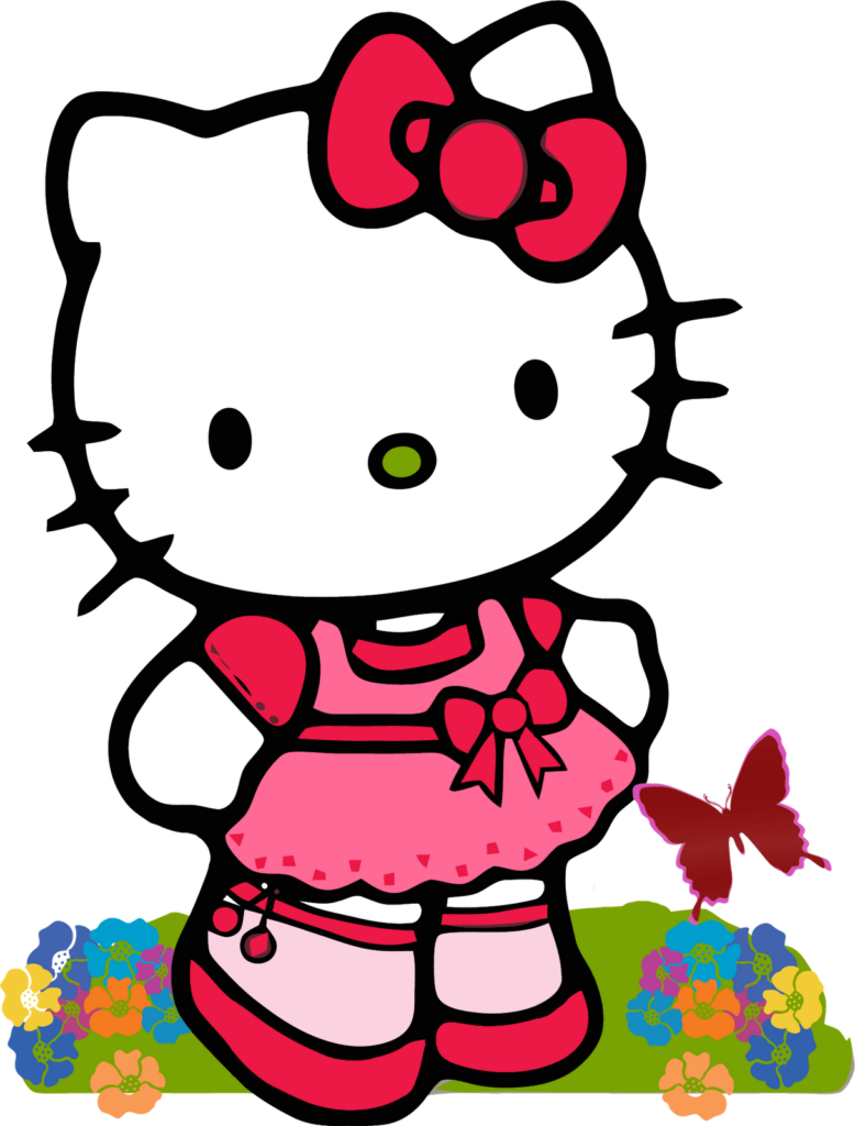Best Hello Kitty Clipart 13829  Clipartioncom