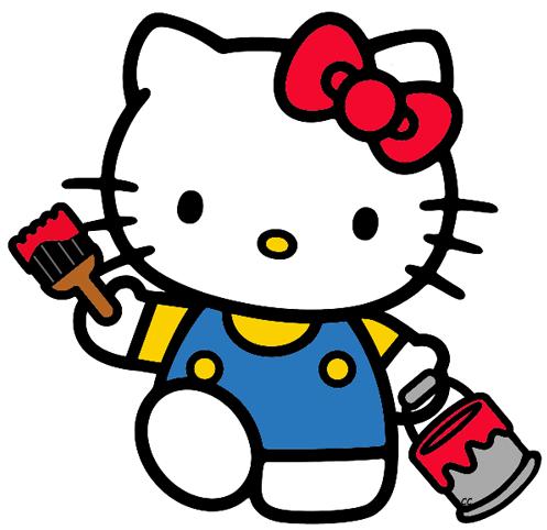 Hello Kitty Clip Art  Cartoon Clip Art