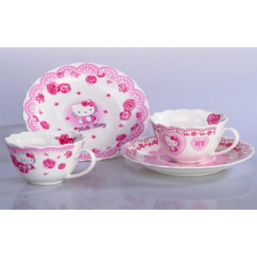 Hello Kitty Porcelain Tea Set frombudgetmktgcom 2990