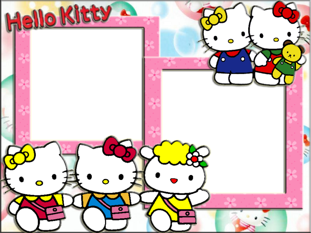Rámy Hello Kitty  Photoshop Hello Kitty Frame 1024×768