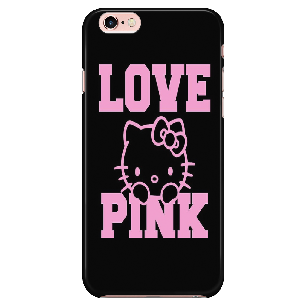 Hello Kitty Hard Glossy Plastic Case for iPhone 66s