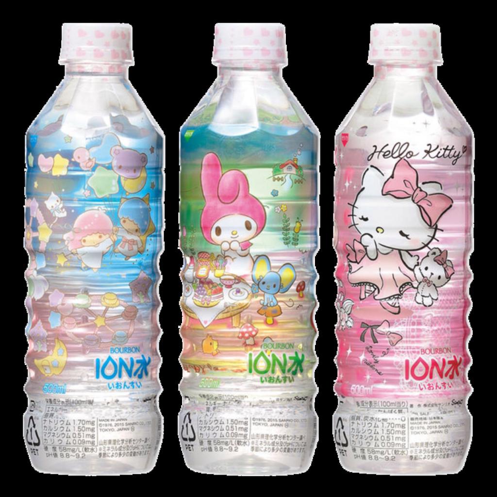 milktop  Hello kitty my melody Sanrio Bottle