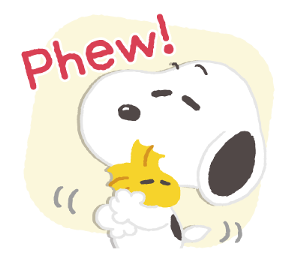 Thoughtful Snoopy Stickers  Line Sticker With images