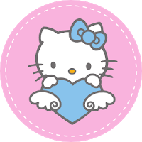 Free Love Quotes Hello Kitty Invitation Party and Cake Topper