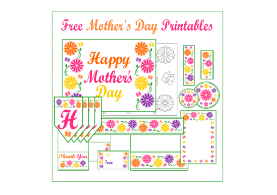 free-hello-kitty-large-party-circles | Happy mother day ... - Hello Kitty Sayings