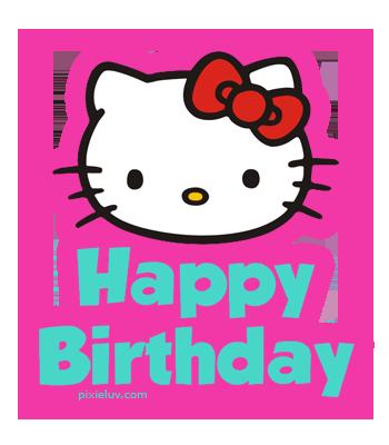 Hello Kitty Happy Birthday Quotes. QuotesGram - Hello Kitty Sayings