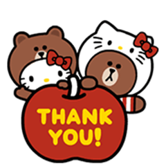 Pin by Banke on Thank you pictures  Hello kitty pictures