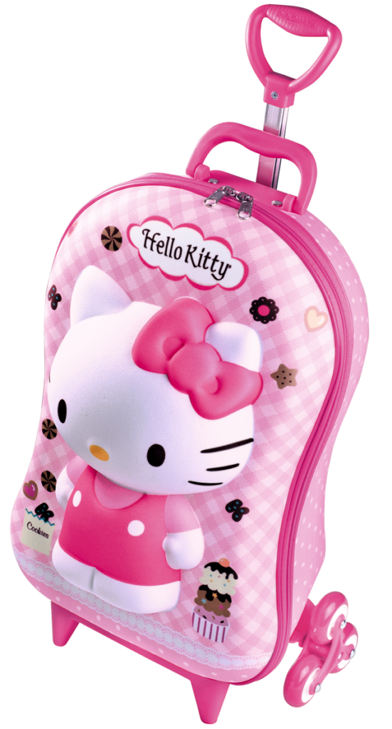 Hello Kitty Rolling Backpack  Hello kitty backpacks