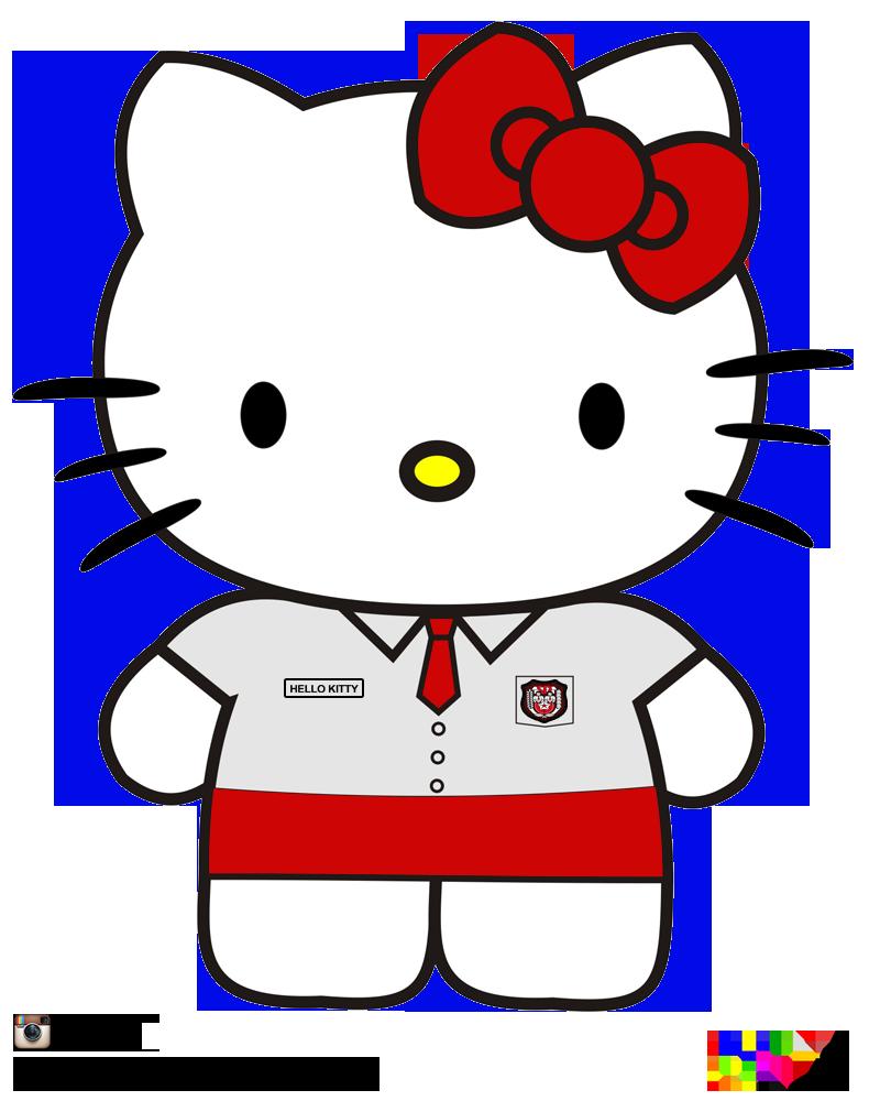 Gambar Hello Kitty Sekolah  Terkini Banget