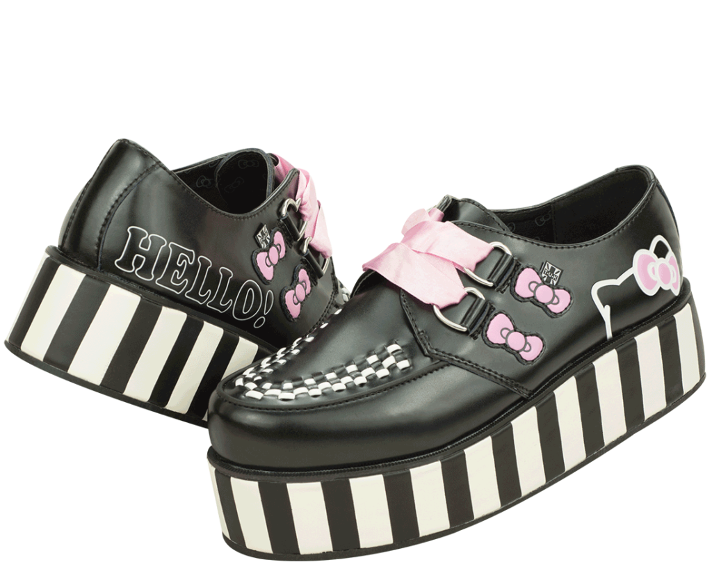 ️  in 2020  Hello kitty Sock shoes Leather