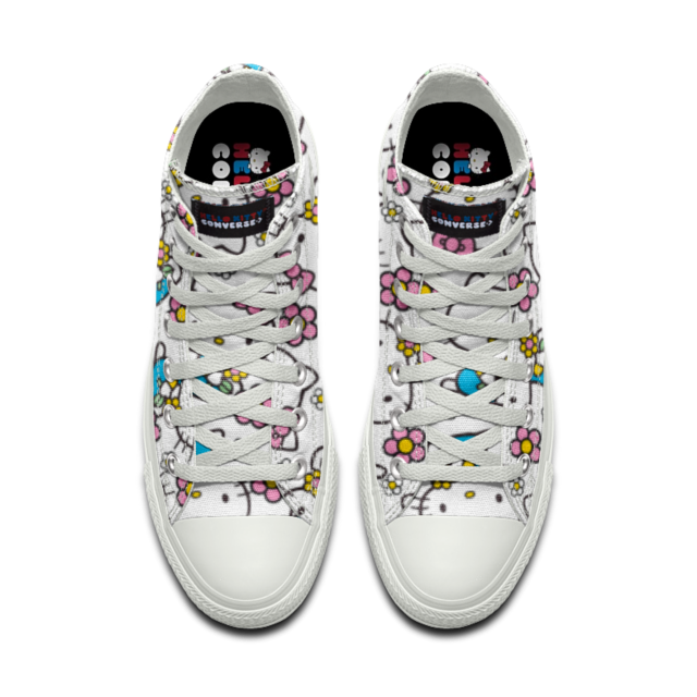 Converse Custom Chuck Taylor All Star Hello Kitty High Top