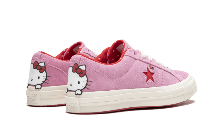 Converse One Star Ox Hello Kitty  Pink  162939C