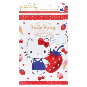 Hello Kitty Assorted Self Adhesive A4 Book Covers  Books