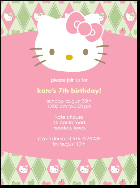 Hello Kitty Argyle CharmPrincess  Hello kitty birthday
