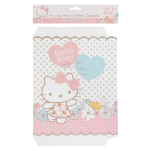 Hello Kitty A4 Book Jacket 5 Piece | Books | Stationery ... - Hello Kitty Stationery