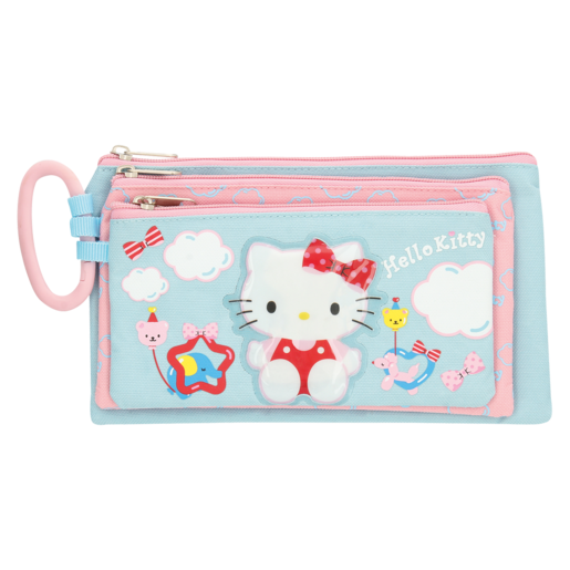 Hello Kitty Assorted Pencil Bag Set 3 Piece  Pencil Bags