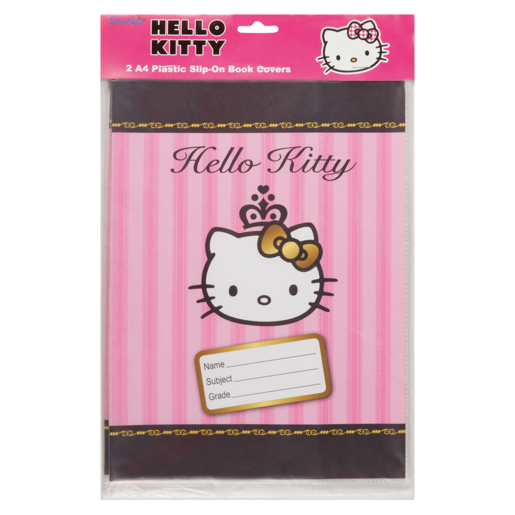 Hello Kitty Assorted Plastic Book Covers 2 Pack  Books