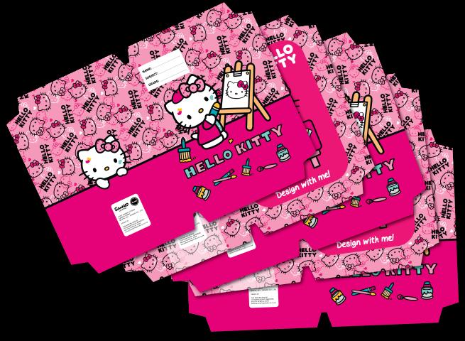Hello Kitty A4 Precut Book Covers 5 Per Pack  Dream