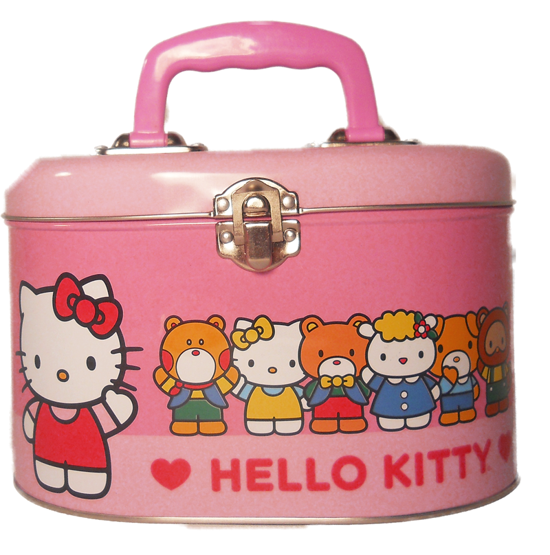 Hello Kitty Oval Purse Gift Basket for Girls  The